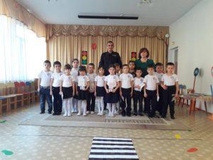 Сегодня воспитанников группы Нэбзый посвятили в отряд ЮИД